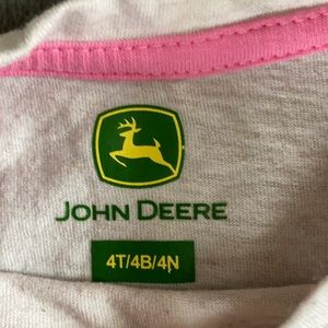 John Deere Shirts & Tops - Girls John Deere Shirt size 4